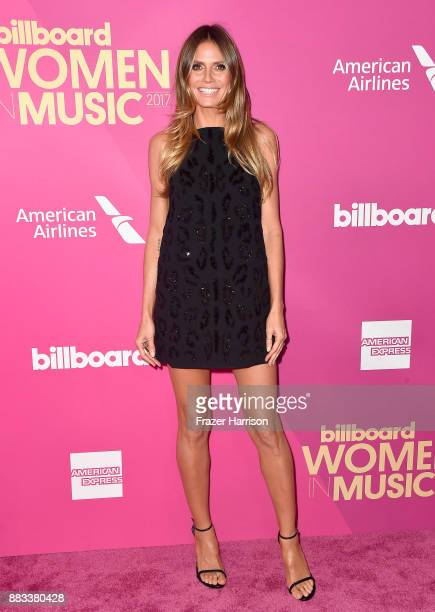 Heidi Klum attends Billboard Women In Music 2017 at The Ray Dolby Ballroom at Hollywood Highland Center on November 30 2017 in Hollywood California