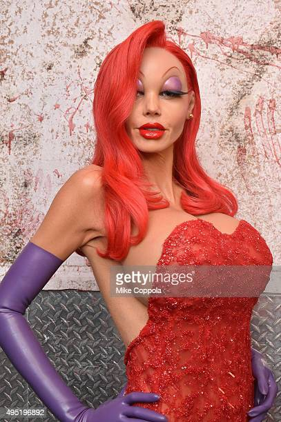 Heidi Klum attends Heidi Klum's 16th Annual Halloween Party sponsored by GSN's Hellevator And SVEDKA Vodka At LAVO New York on October 31 2015 in New...