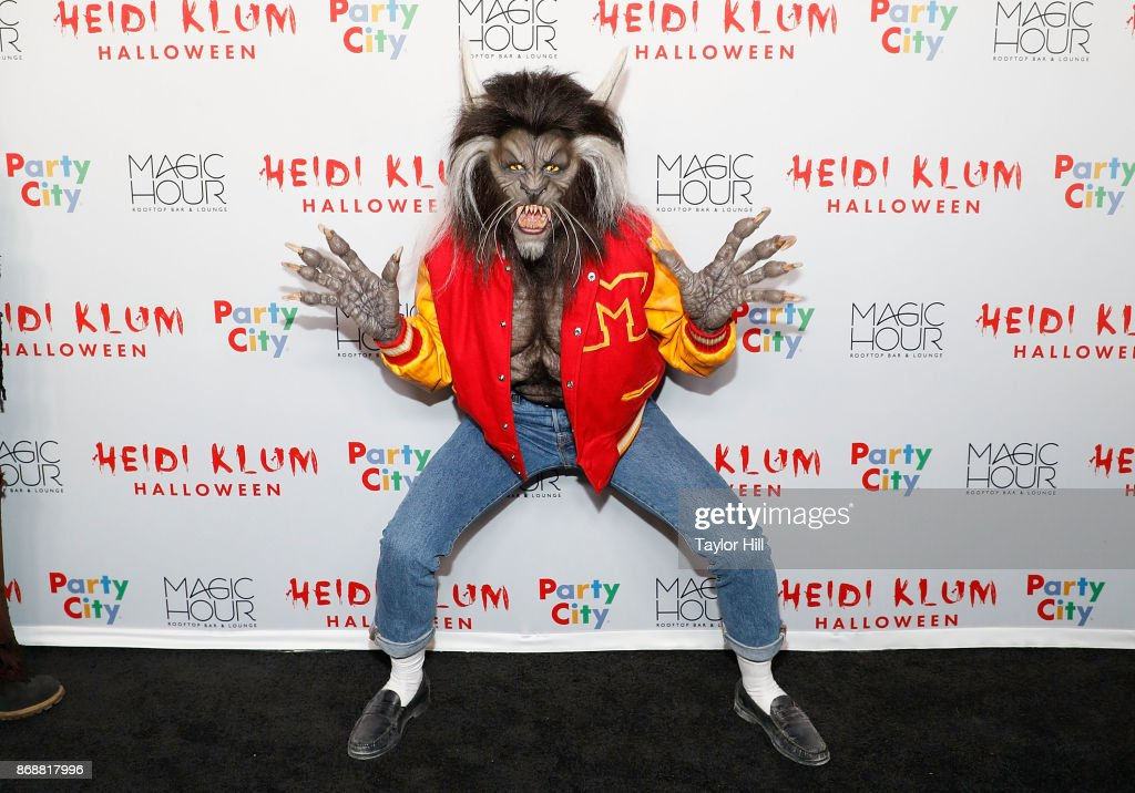 Heidi Klum attends Heidi Klum's 18th Annual Halloween Party at Magic Hour Rooftop Bar & Lounge on October 31, 2017 in New York City.