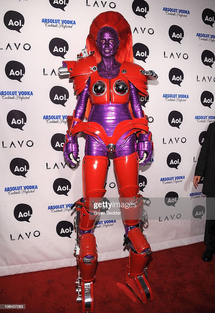 Heidi Klum attends Heidi Klum's 2010 Halloween Party at Lavo on October 31 2010 in New York City
