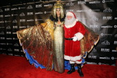 Heidi Klum attends her Haunted Holiday Party benefitting The American Red Cross presented by SVEDKA Vodka and Smartwater at FINALE Nightclub on...