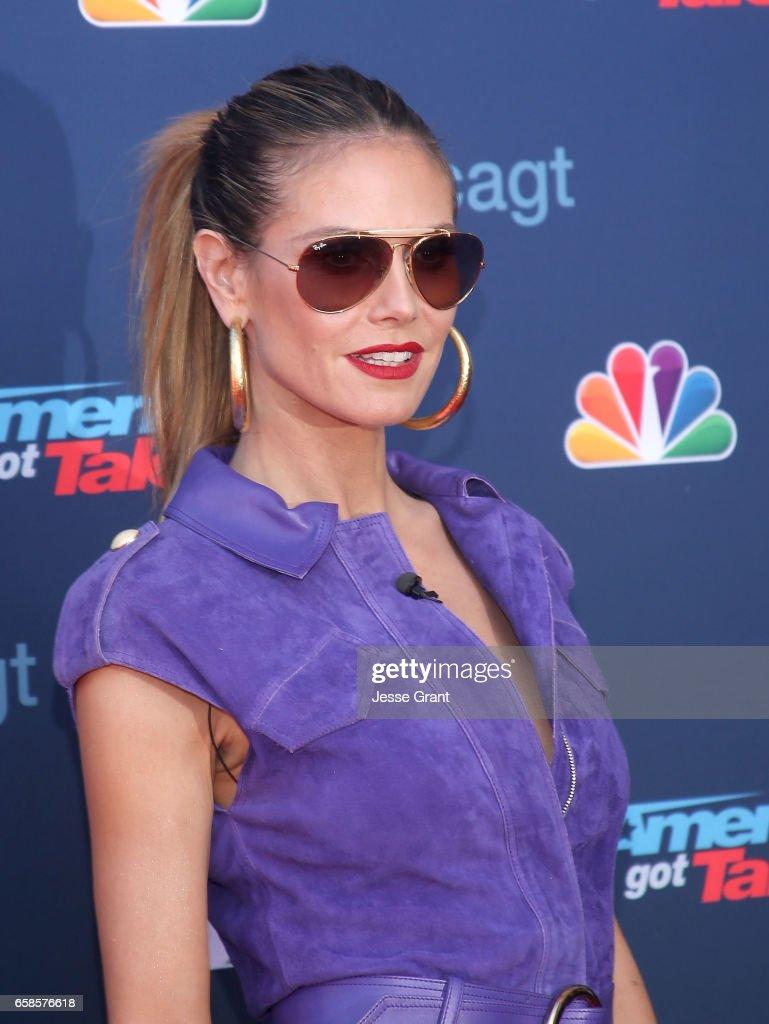 Americas got talent 2017 nz - Heidi Klum Attends Nbc S America S Got Talent Season 12 Kickoff At The Pasadena Civic