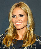 Heidi Klum attends the 2015 CLIO Awards at The Plaza Hotel on May 5 2015 in New York City