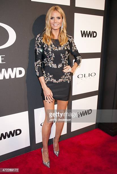 Heidi Klum attends the 2015 CLIO Image Awards at The Plaza Hotel on May 5 2015 in New York City