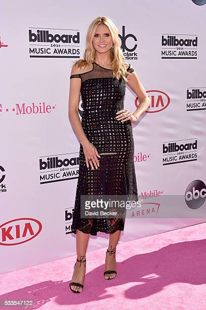 Heidi Klum attends the 2016 Billboard Music Awards at TMobile Arena on May 22 2016 in Las Vegas Nevada