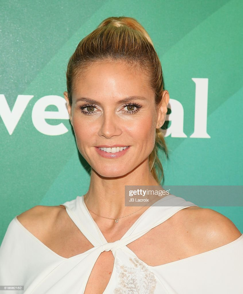 Heidi Klum attends the 2016 NBCUniversal Summer Press Day on April 01, 2016 in Westlake Village, California
