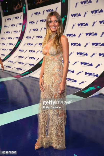 Heidi Klum attends the 2017 MTV Video Music Awards at The Forum on August 27 2017 in Inglewood California