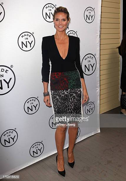 Heidi Klum attends the 8th Annual 'Made In NY Awards' at Gracie Mansion on June 10 2013 in New York City
