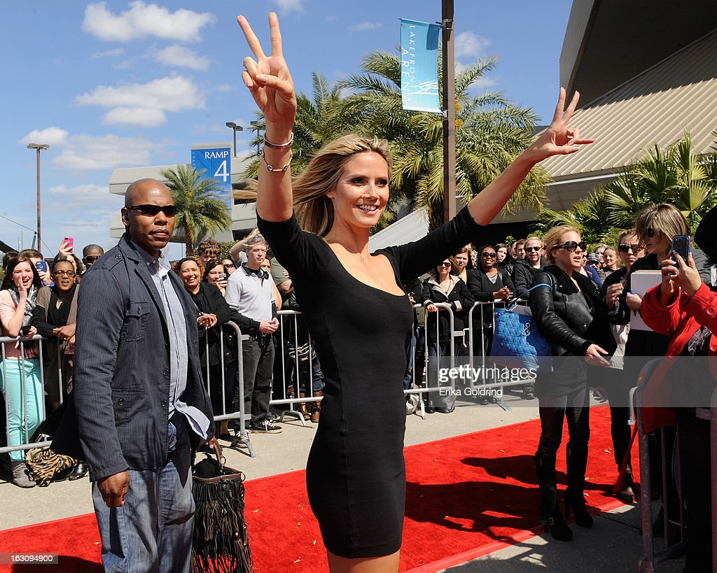 <a gi-track='captionPersonalityLinkClicked' href=/galleries/search?phrase=Heidi+Klum&family=editorial&specificpeople=178954 ng-click='$event.stopPropagation()'>Heidi Klum</a> attends the 'America's Got Talent' New Orleans auditions as a judge at UNO Lakefront Arena on March 4, 2013 in New Orleans, Louisiana.