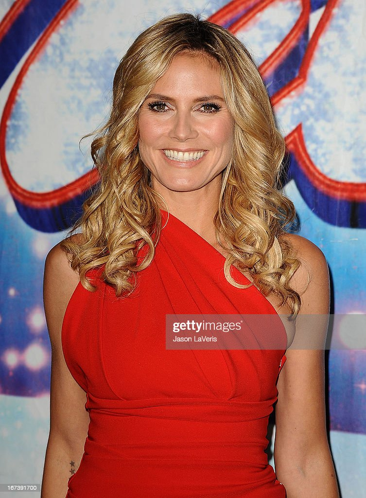 <a gi-track='captionPersonalityLinkClicked' href=/galleries/search?phrase=Heidi+Klum&family=editorial&specificpeople=178954 ng-click='$event.stopPropagation()'>Heidi Klum</a> attends the 'America's Got Talent' season eight premiere party at the Pantages Theatre on April 24, 2013 in Hollywood, California.