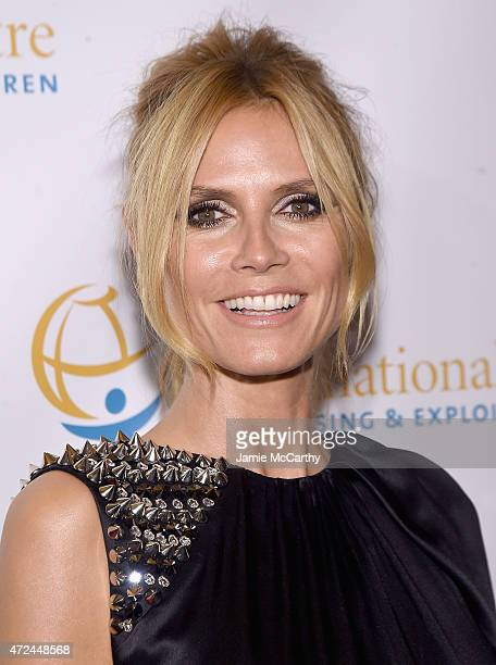 Heidi Klum attends the International Centre For Missing And Exploited Children's Inaugural Gala at Gotham Hall on May 7 2015 in New York City