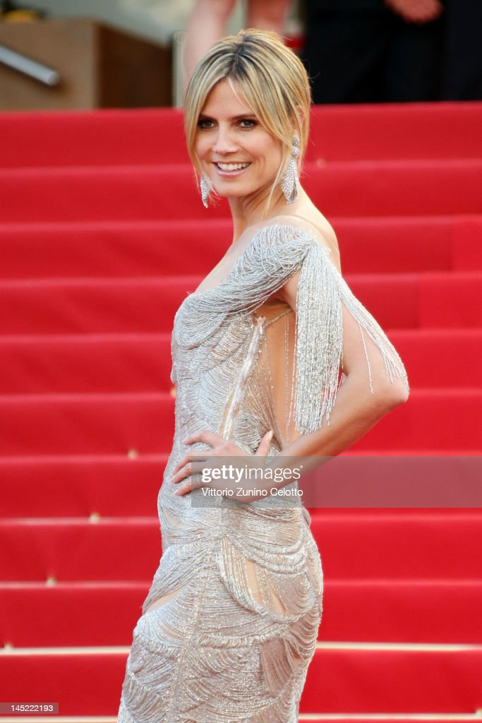 Heidi Klum attends the 'The Paperboy' premiere during the 65th Annual Cannes Film Festival at Palais des Festivals on May 24, 2012 in Cannes, France.