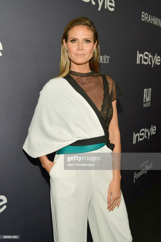 Heidi Klum attends the Third Annual 'InStyle Awards' presented by InStyle at The Getty Center on October 23, 2017 in Los Angeles, California.