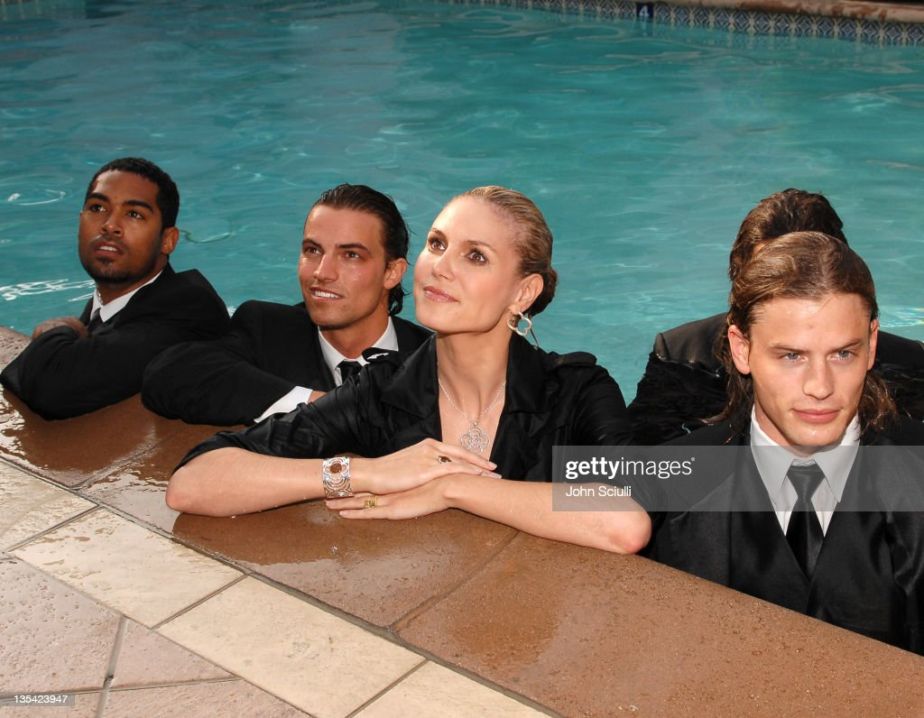Heidi Klum during Heidi Klum at the Beverly Hills Hotel Promoting Her 2nd QVC Appearance Saturday April 14th at 4 PM EST at The Beverly Hills Hotel...