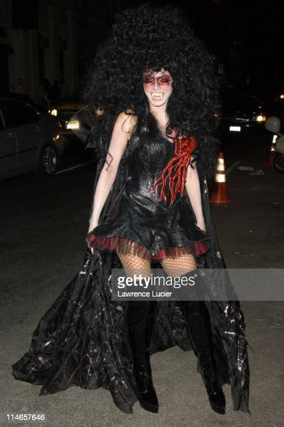 Heidi Klum during Heidi Klum Halloween Party October 31 2005 at Happy Valley in New York City New York United States