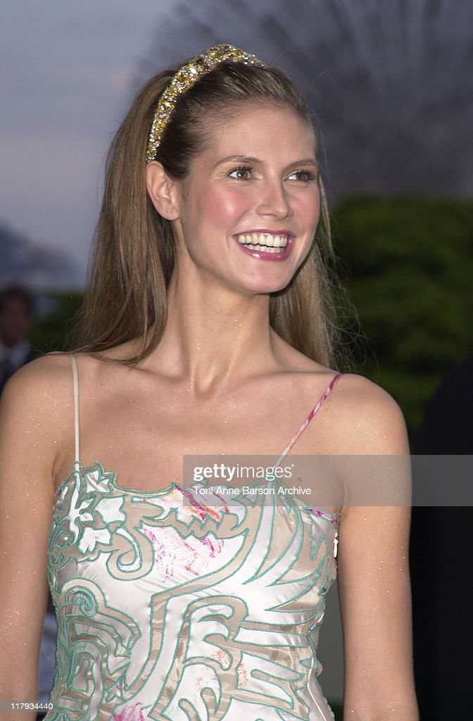 Heidi Klum during Laureus World Sports Awards Dinner and Silent Auction - Arrivals at Monte Carlo Sporting Club in Monte Carlo, Monaco.