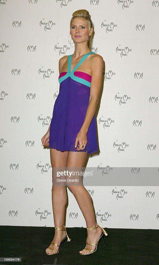 Heidi Klum during The 30th Annual American Music Awards - Press Room at Shrine Auditorium in Los Angeles, California, United States.