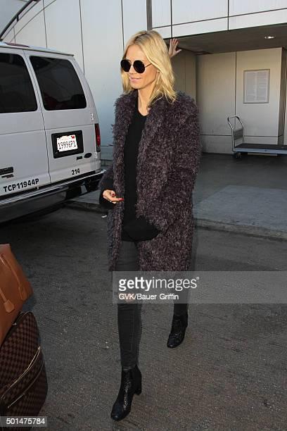 Heidi Klum is seen at LAX on December 15 2015 in Los Angeles California