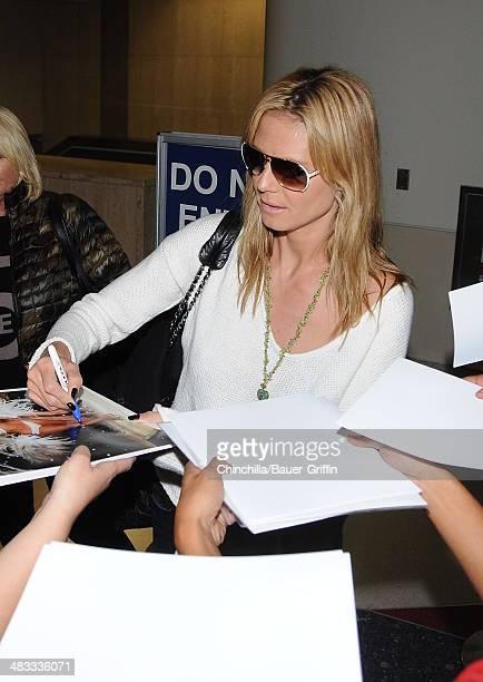 Heidi Klum is seen on April 07 2014 in Los Angeles California
