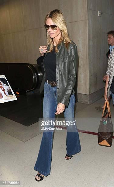 Heidi Klum is seen on May 25 2015 in Los Angeles California