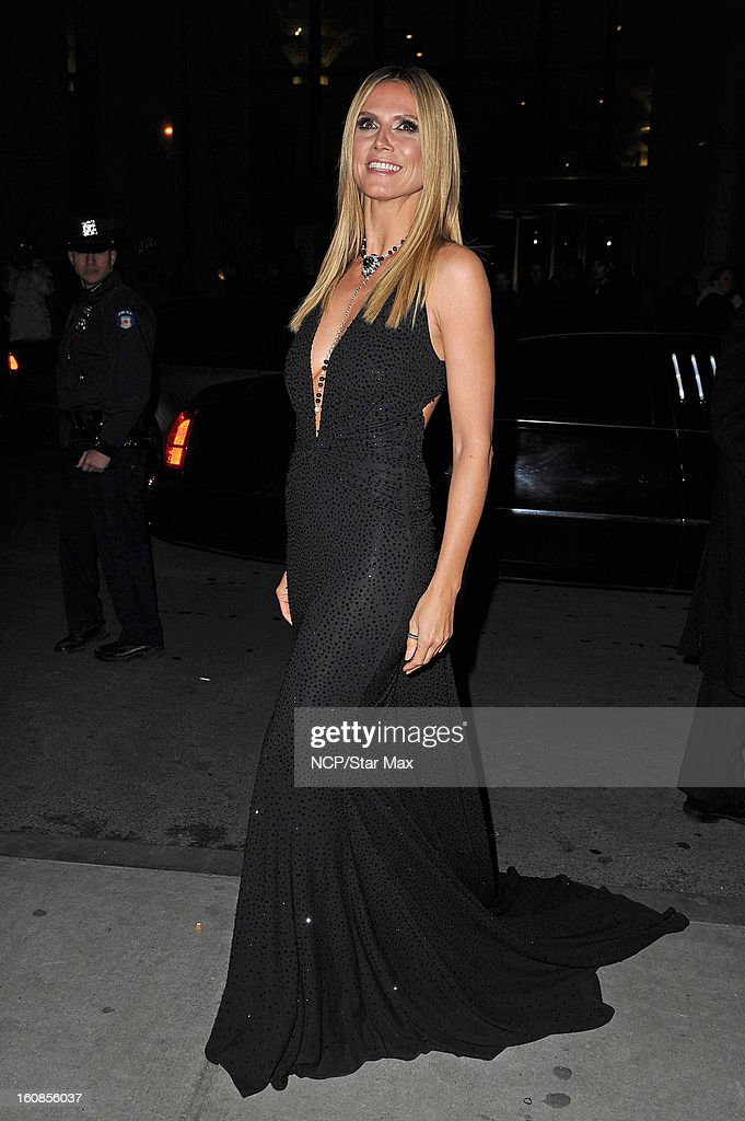 <a gi-track='captionPersonalityLinkClicked' href=/galleries/search?phrase=Heidi+Klum&family=editorial&specificpeople=178954 ng-click='$event.stopPropagation()'>Heidi Klum</a> is sighted on February 6, 2013 in New York City.