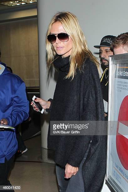 Heidi Klum seen at LAX on December 05 2014 in Los Angeles California