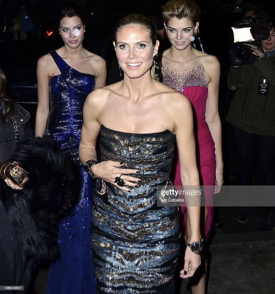 <a gi-track='captionPersonalityLinkClicked' href=/galleries/search?phrase=Heidi+Klum&family=editorial&specificpeople=178954 ng-click='$event.stopPropagation()'>Heidi Klum</a> sighting on February 8, 2012 in New York City.