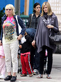 Heidi KlumErna Klum and Henry Samuel are seen on the Streets of Manhattan on June 22 2009 in New York CityEXCLUSIVE COVERAGE
