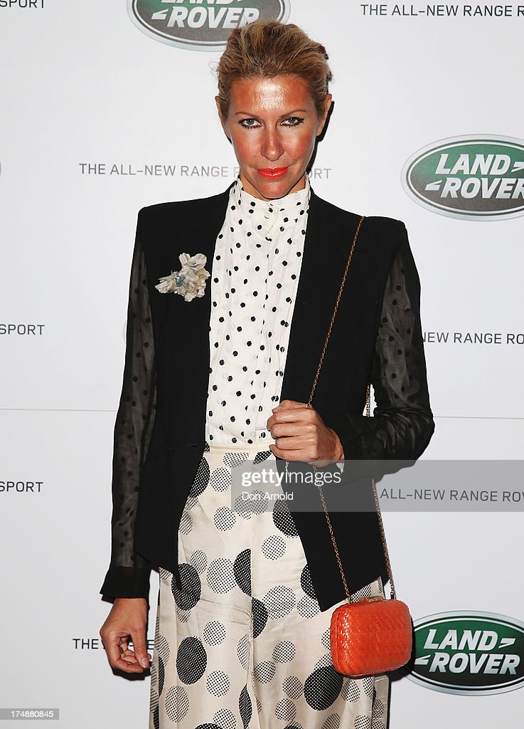 Heidi Middleton arrives at a Range Rover Sport launch event at the Overseas Passenger Terminal on July 29, 2013 in Sydney, Australia.