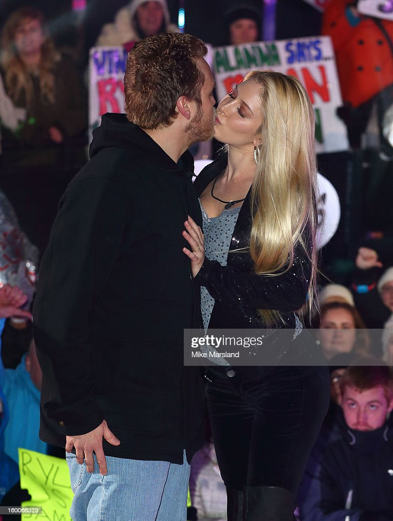 Heidi Montag and Spencer Pratt are evicted from the Celebrity Big Brother House at Elstree Studios on January 25, 2013 in Borehamwood, England.