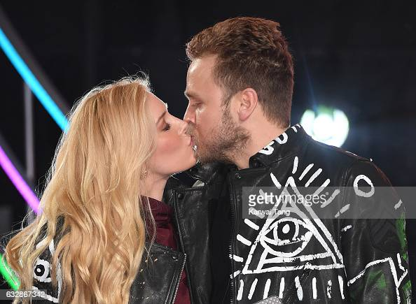Heidi Montag and Spencer Pratt are the 8th housemates evicted from the Celebrity Big Brother house at Elstree Studios on January 27 2017 in...