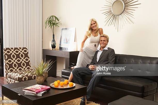 Heidi Montag and Spencer Pratt at Home
