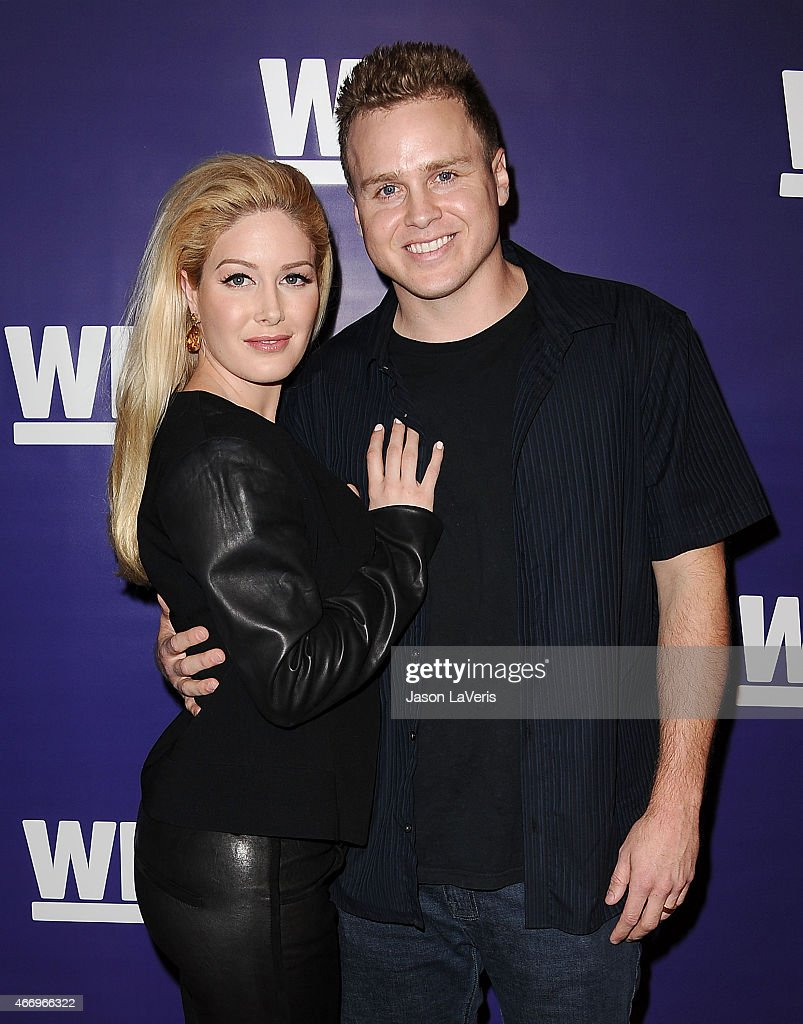 Heidi Montag and Spencer Pratt attend 'The Evolution Of The Relationship Reality Show' at The Paley Center for Media on March 19 2015 in Beverly...