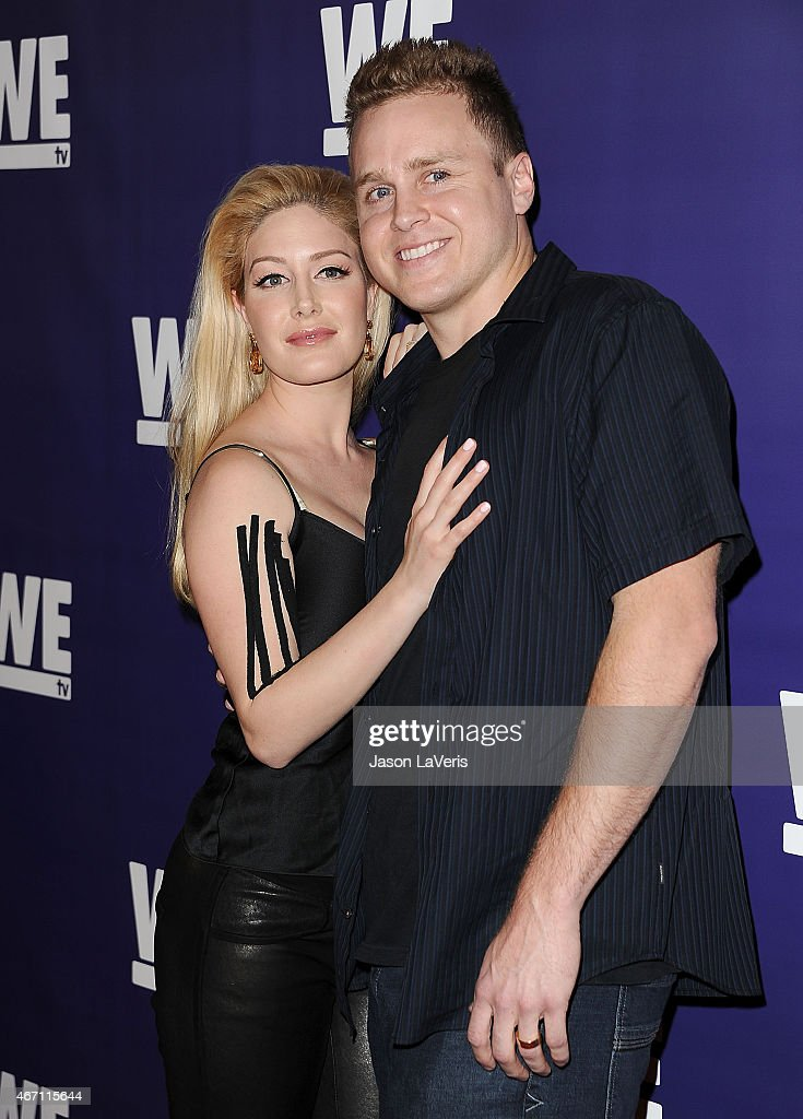 <a gi-track='captionPersonalityLinkClicked' href=/galleries/search?phrase=Heidi+Montag&family=editorial&specificpeople=761509 ng-click='$event.stopPropagation()'>Heidi Montag</a> and <a gi-track='captionPersonalityLinkClicked' href=/galleries/search?phrase=Spencer+Pratt&family=editorial&specificpeople=3963476 ng-click='$event.stopPropagation()'>Spencer Pratt</a> attend 'The Evolution Of The Relationship Reality Show' at The Paley Center for Media on March 19, 2015 in Beverly Hills, California.