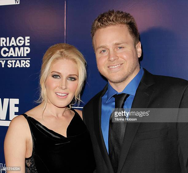 Heidi Montag and Spencer Pratt attend WE TV's 'Marriage Boot Camp' reality stars 'David Tutera's Celebrations' premiere party at 1 OAK on January 8...
