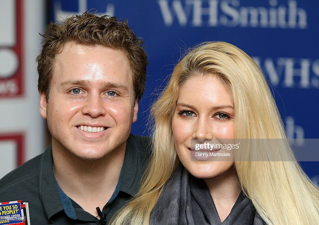 <a gi-track='captionPersonalityLinkClicked' href=/galleries/search?phrase=Heidi+Montag&family=editorial&specificpeople=761509 ng-click='$event.stopPropagation()'>Heidi Montag</a> and <a gi-track='captionPersonalityLinkClicked' href=/galleries/search?phrase=Spencer+Pratt&family=editorial&specificpeople=3963476 ng-click='$event.stopPropagation()'>Spencer Pratt</a> meet fans and sign copies of OK! Magazine at Brent Cross Shopping Centre on February 2, 2013 in London, England.