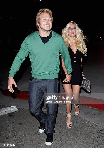 Heidi Montag and Spencer Pratt sighting on April 10 2009 in West Hollywood California