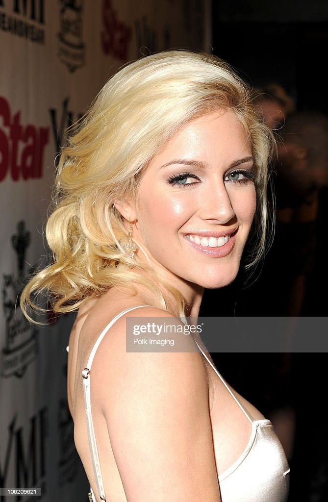 Heidi Montag arrives to the Star Magazine Celebration of the Young Hollywood Issue at Apple Lounge in West Hollywood, CA on March 11, 2009.