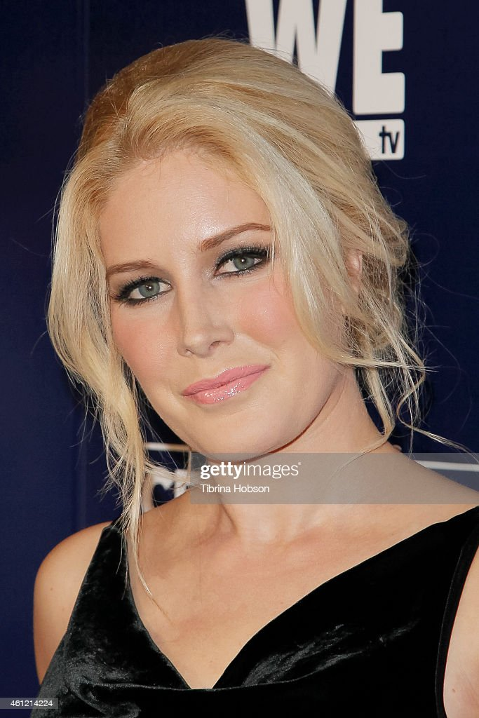 Heidi Montag attends WE TV's 'Marriage Boot Camp' reality stars 'David Tutera's Celebrations' premiere party at 1 OAK on January 8 2015 in West...