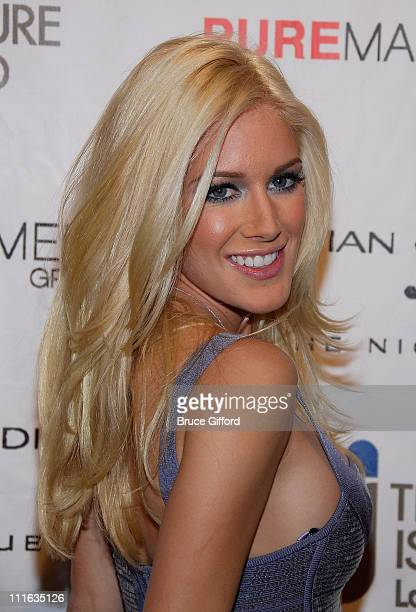 Heidi Montag Celebrates Her Birthday at Christian Audigier Nightclub at Treasure Island on September 20 2008 in Las Vegas Nevada