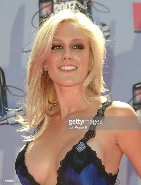 Heidi Montag during 2007 MTV Movie Awards Arrivals at Gibson Amphitheater in Los Angeles California United States