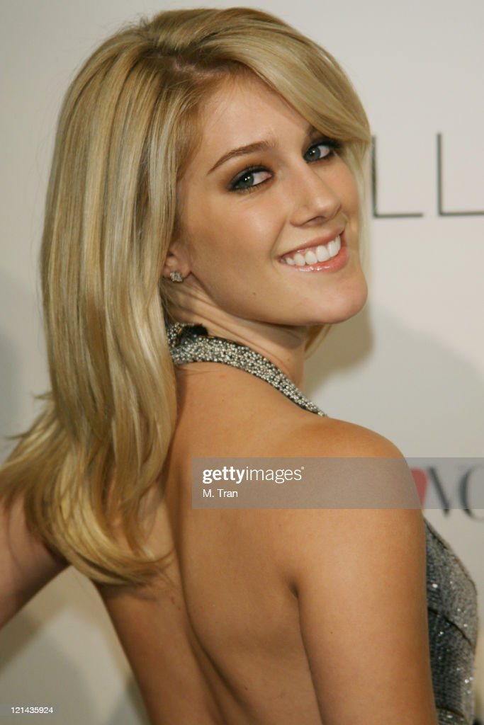Heidi Montag during Launch Party to Celebrate the Second Season of the MTV Series 'The Hills' at Area in Hollywood California United States