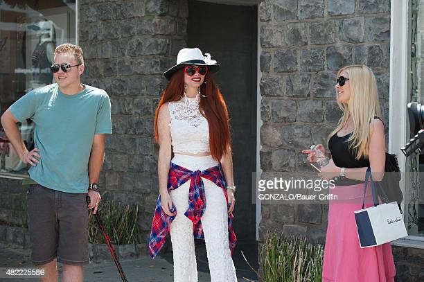 Heidi Montag Spencer Pratt and Phoebe Price are seen on July 28 2015 in Los Angeles California