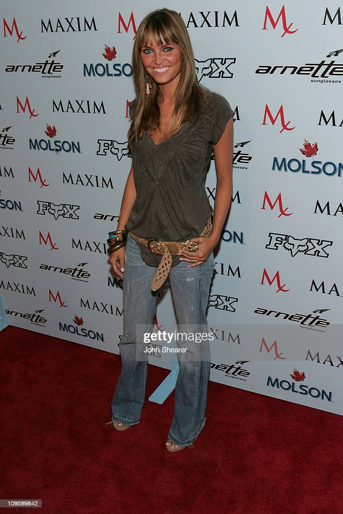 Heidi Mueller during Maxim Magazine Celebrates The 2005 X-Games at Cabana Club in Los Angeles, California, United States.