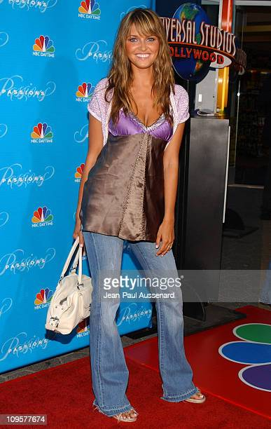 Heidi Mueller during NBC's 'Passions' 7th Season KickOff Party at Universal Citywalk in Universal City California United States