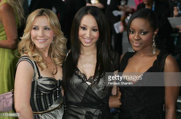 Heidi Range Amelle Berrabah and Keisha Buchanan from the SugaBabes