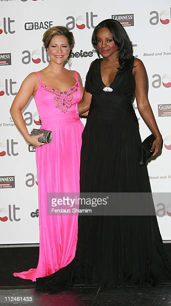 Heidi Range and Keisha Buchanan from Sugababes attend the Gift Of Life IX Charity Ball at Hotel InterContinental on September 20 2008 in London...