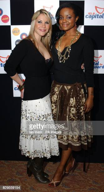 Heidi Range and Keisha Buchanan from the Sugababes