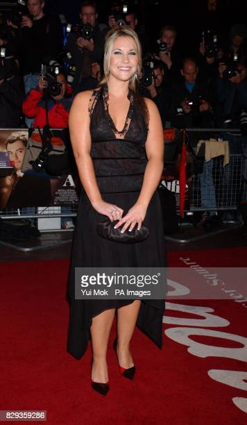 Heidi Range arrive for the world charity premiere of Alfie at the Empire Leicester Square in central London in aid of MakeAWish foundation
