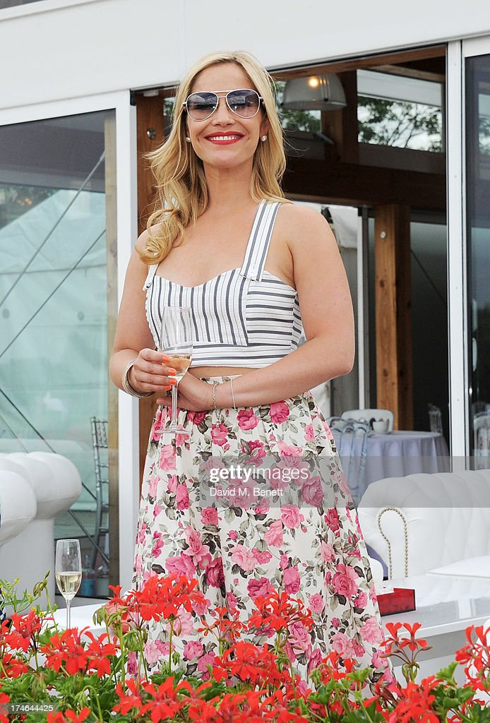 Heidi Range attends the Audi International Polo at Guards Polo Club on July 28, 2013 in Egham, England.